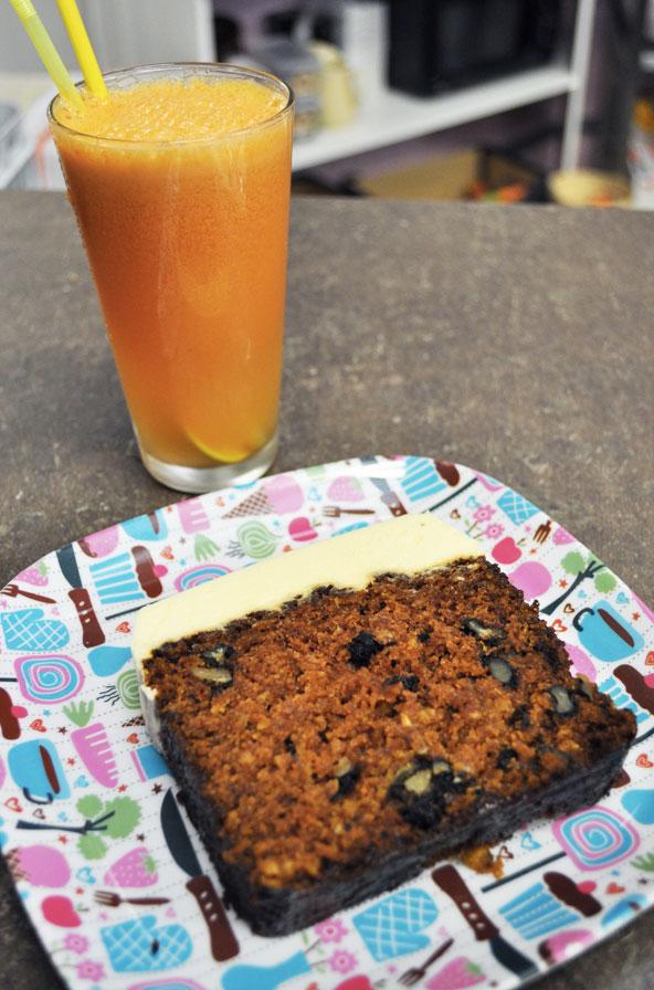 Milwaukee Café (Biarritz) - Carrot cake