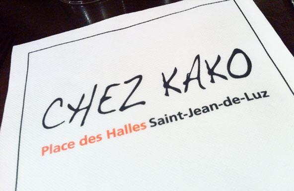 Chez Kako (Saint-Jean-de-Luz)