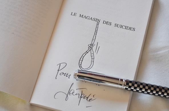 Autographe Jean Teulé