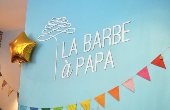 Sweet table - La Barbe à Papa (Lyon)
