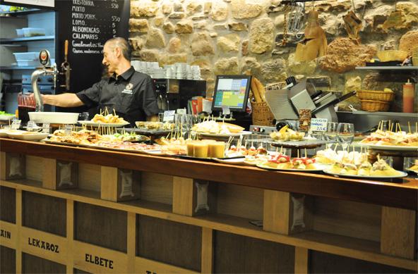 Comptoir à Pintxos - Baztan (San Sebastian)