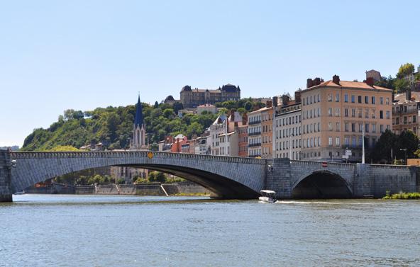 Croisière sur la Saône - Lyon