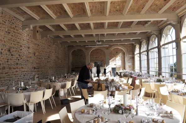 Château des Ravatys - orangerie