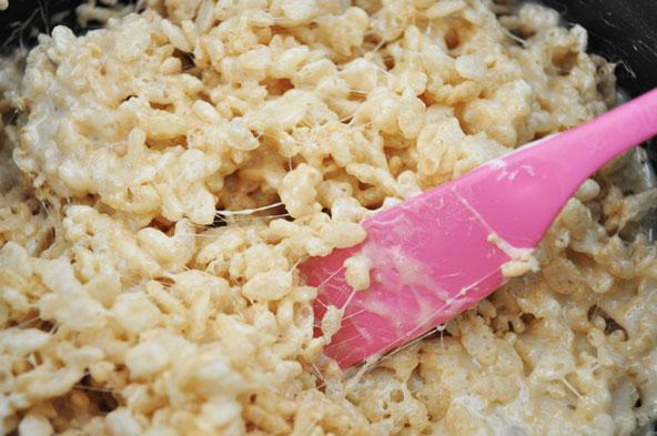 Carré aux Rice Krispies
