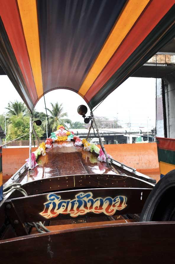 Balade sur les khlongs - Bangkok