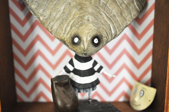 DIY Maison de poupée burtonienne
