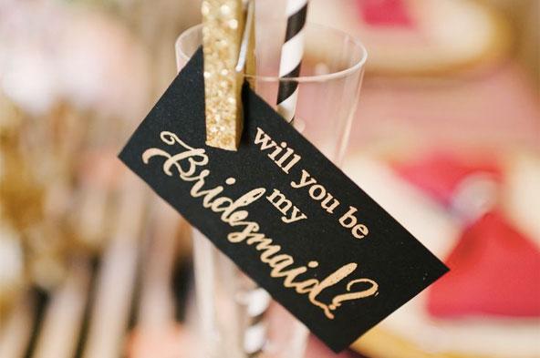 Organisation de mariage - Demande aux témoins