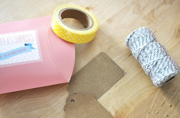 FoodizBox d'avril - accessoires DIY