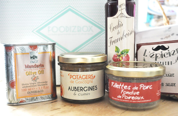 FoodizBoFoodizBox d'avril - produits gourmands