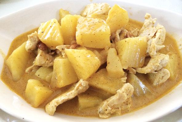 Massaman Curry at Peppermint - Chiang Mai