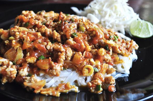 Swan burmese cuisine - Chiang Mai