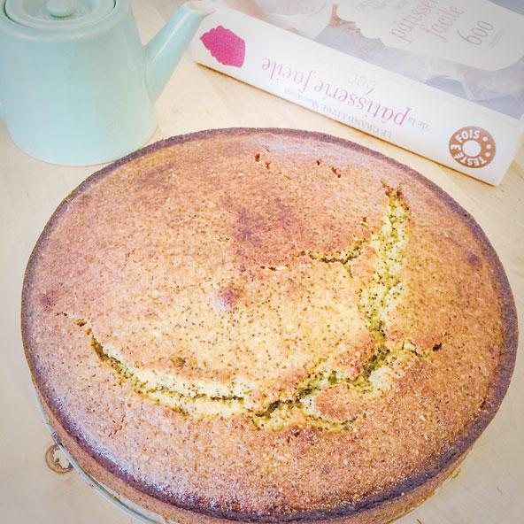Gâteau orange et pavot