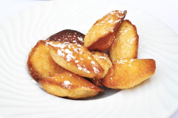 Moelleuses madeleines - Le Caro de Lyon