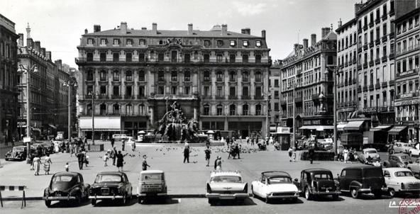 Place des Terreaux - Retro Lyon