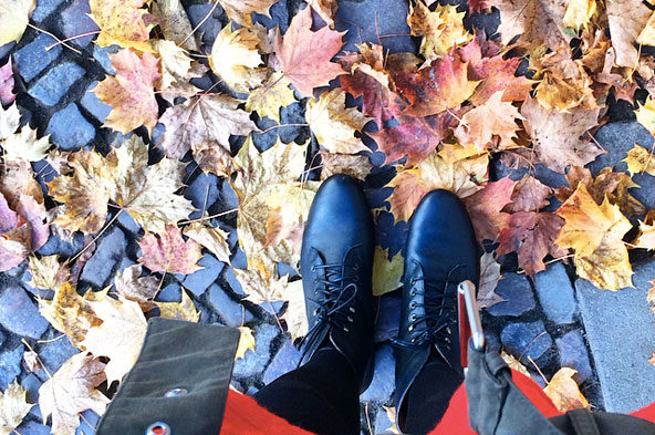 L'automne en bottines