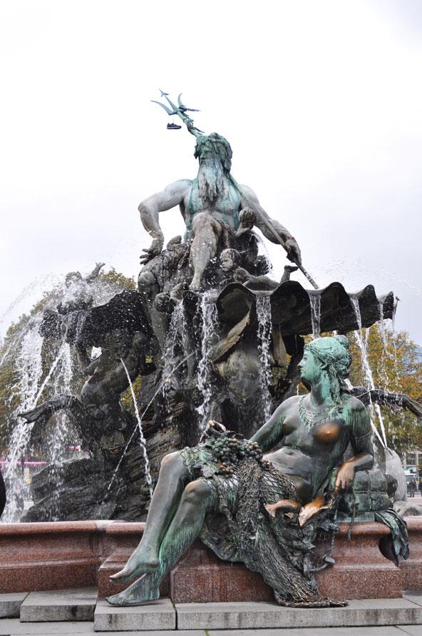 Berlin Fontaine de Neptune