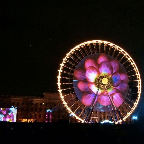 Fête des Lumières 2014 - Place Bellecour