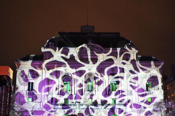 Fête des Lumières 2014 - Théâtre des Célestins