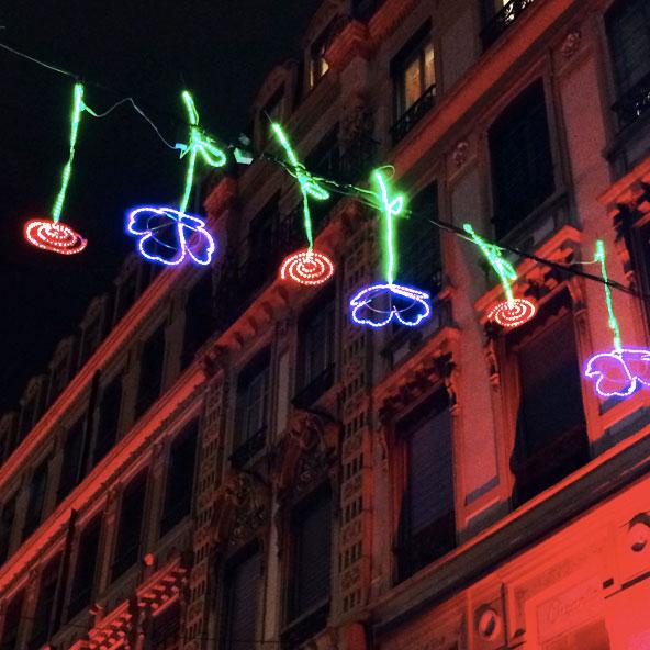 Fête des Lumières 2014 - Rue Herriot