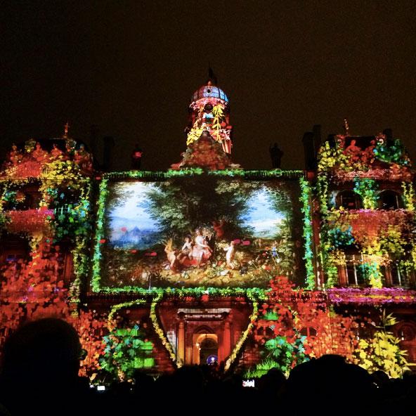 Fête des Lumières 2014 - Place des Terreaux