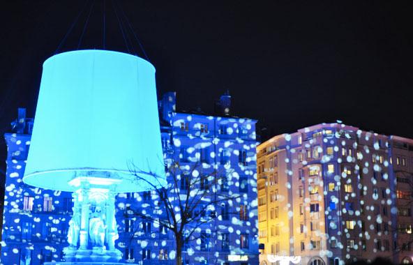 Fête des Lumières 2014 - Place des Jacobins