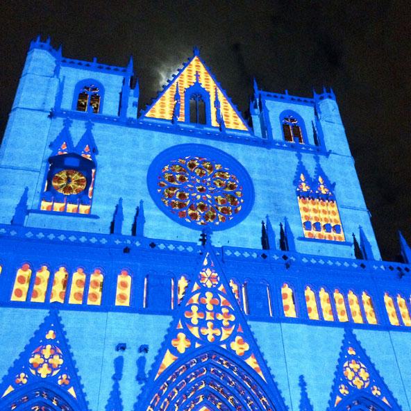 Fête des Lumières 2014 - Place Saint-Jean