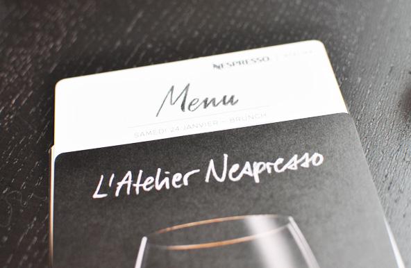 Brunch Nespresso avec Thibault Sombardier et Yann Couvreur