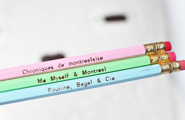 Crayons Me Myself & Montréal