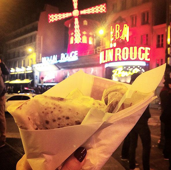 Crêpe - Moulin Rouge
