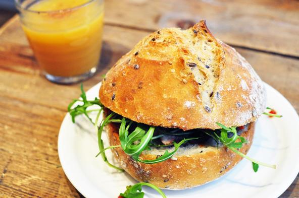 Sandwich - La Boutique du Potager (Lyon)
