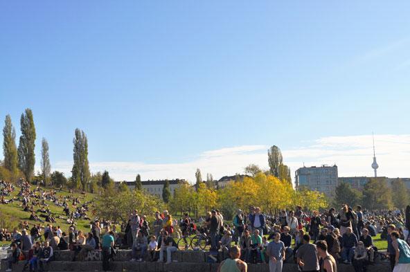 Marché aux puces Berlin - Mauerpark