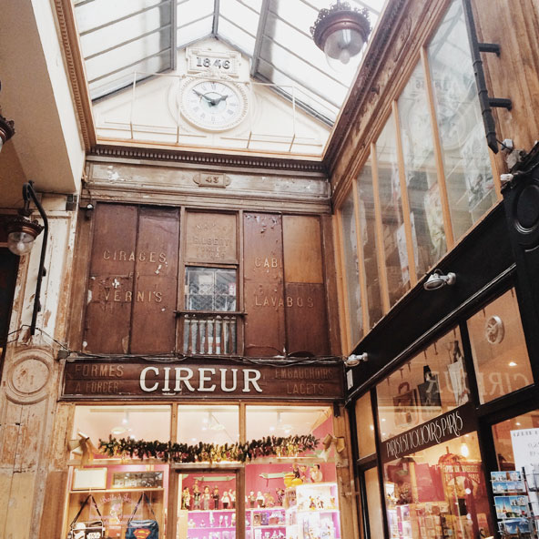 Passage Jouffroy - Paris