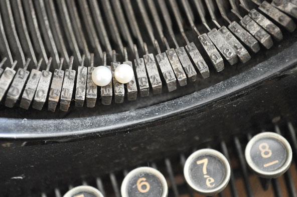 Boucles d'oreilles perles Cleor