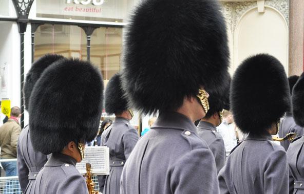 Commémoration militaire à Londres