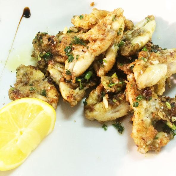 Cuisses de grenouilles à la persillade, Cuisine du Sud (Lyon)