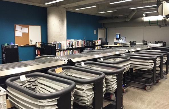 Les coulisses de la Grande Bibliothèque de Montréal