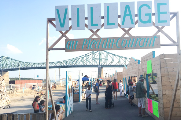 Village au Pied-du-Courant - Montréal