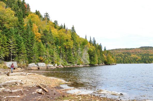 Mont-Tremblant - Randonnée Lac-Poisson