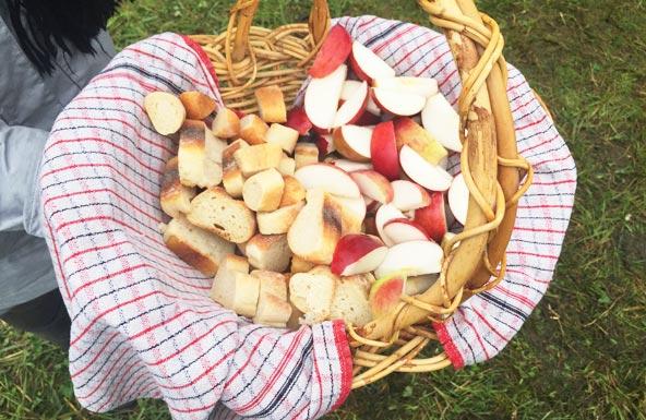 Raclette champêtre au feu de bois - Fromagerie Au gré des champs