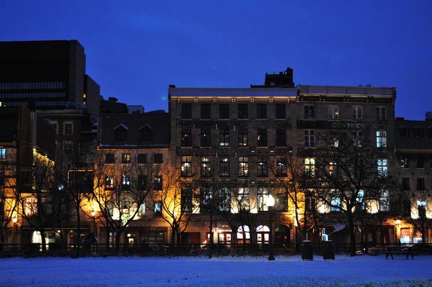 Noël 2015 à Montréal