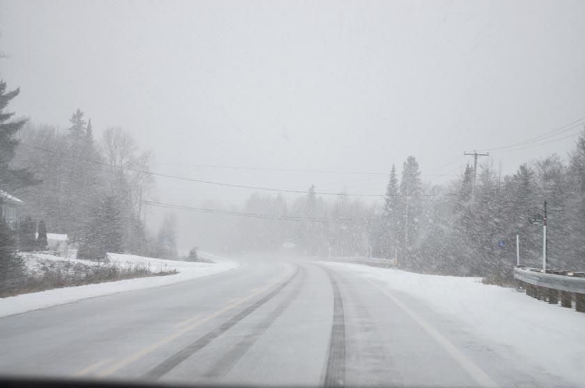 Week-end chalet à Chertsey (Québec)