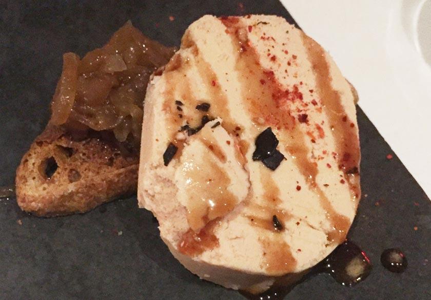 Foie gras chez Pintxo - Montréal