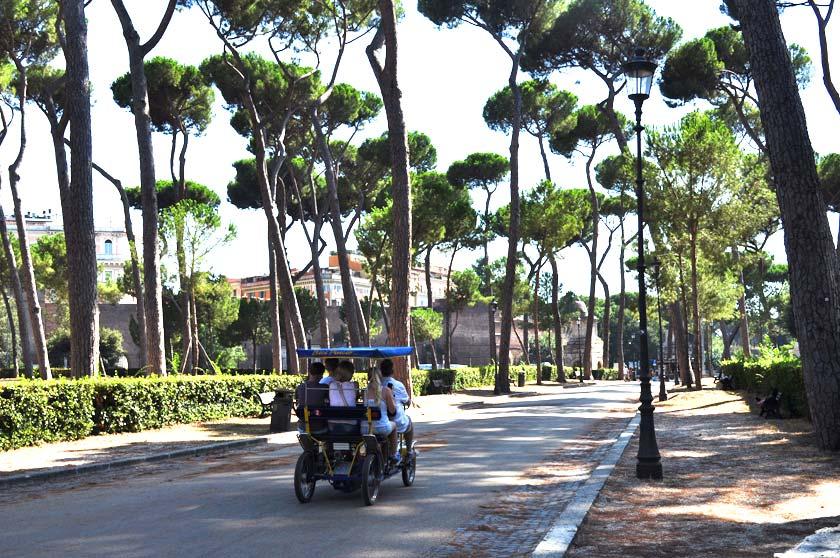 Vacances à Rome - Villa Borghese