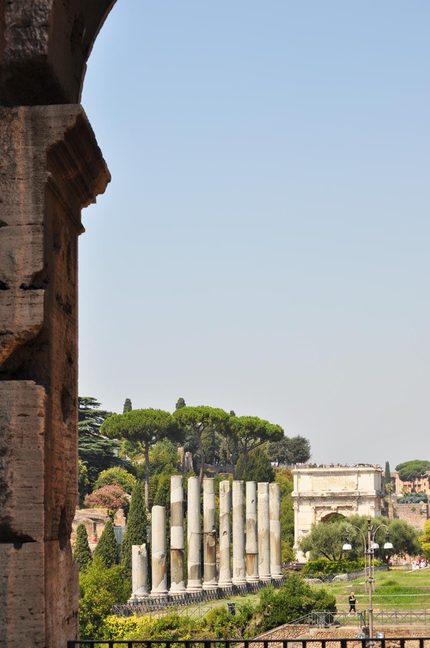 Vacances à Rome - Forum