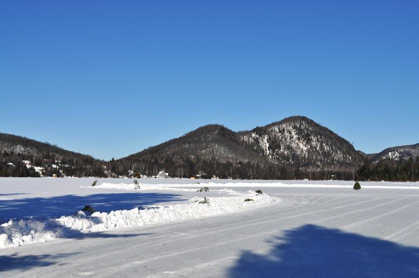 Week-end chalet à Lac-Supérieur (Québec)