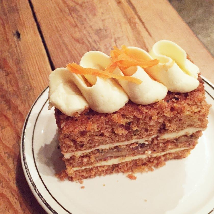 Carrot cake chez Soupesoup