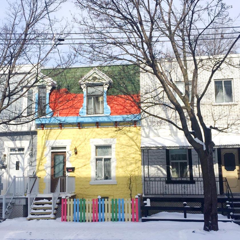 Maison magique à Montréal
