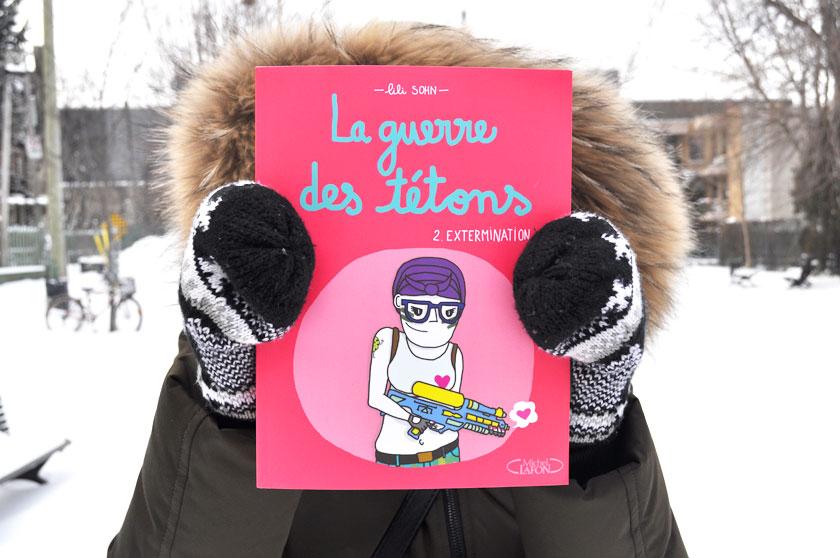 La guerre des tétons 2 à Montréal