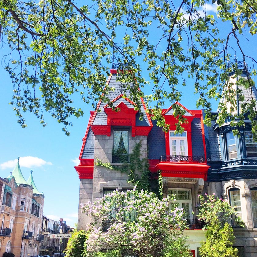 Printemps à Montréal