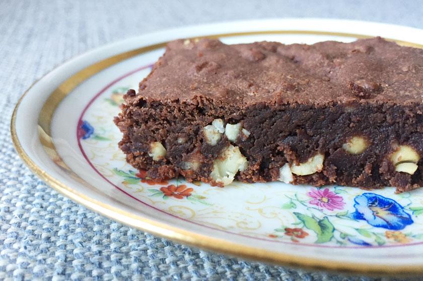 Brownie chocolat-cacahuète